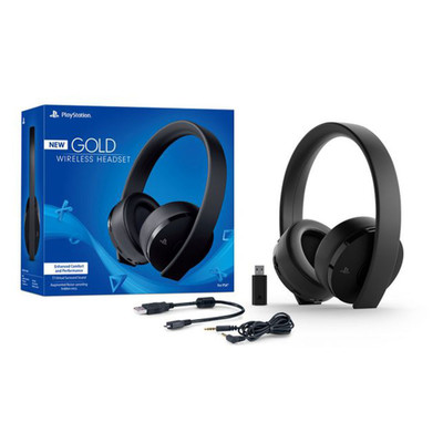 Sony Black Stereo, Wired/Wireless, Noise Cancelling gaming headset - Part Number: 5002-32200