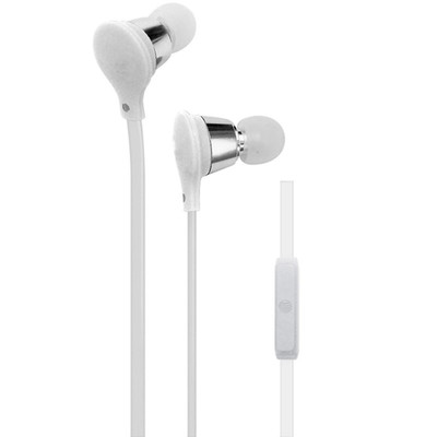 AT&T Jive Earbuds w/ Microphone, White - Part Number: 5002-502WH