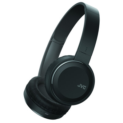 JVC Bluetooth Wireless Headset, includes microphone and phone controls, Black,  (HA-S190BT) - Part Number: 5002-503BK