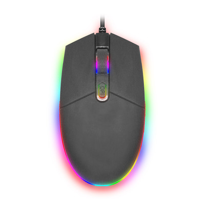 RGB Gaming Mouse, USB, Black - Part Number: 50M1-05000
