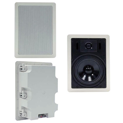 6 inch In-Wall Speaker 80W Max, includes Rear Cover, Single Speaker - Part Number: 60HT-21206
