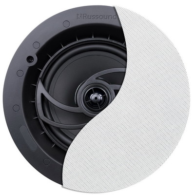 Russound RSF-610, 6.5 inch, 2-way Ceilling Speaker with spring terminals. Pivoting tweeter - 2 Pack - Part Number: 60HT-30200
