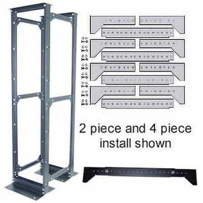 4 Piece Rack Conversion Kit, Bracing System For Anchoring Post Racks - Part Number: 61J2-41200