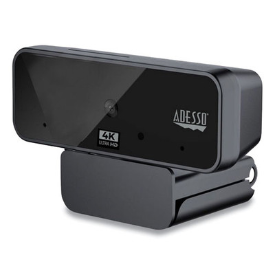 Adesso USB2.0 CyberTrack H6 4K Webcam - 3840 Pixels x 2160 Pixels, 8Mpixel - Part Number: 70U2-07550