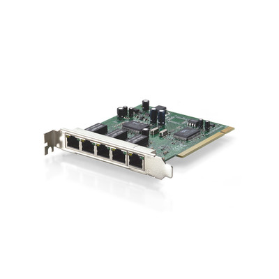 5 Port L2 SNMP 10/100 Fast Ethernet Switch Card, PCI - Part Number: 71X6-00405