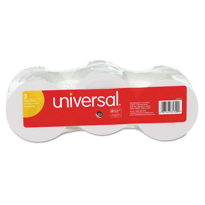 Universal Impact/Inkjet Print Bond Paper Rolls, 1/2 inch Core, 2 1/4 inches wide x 150 feet long, White, 3/pack - UNV35720 - Part Number: 7211-00101