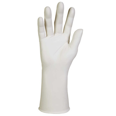 Kimtech G3 NXT Nitrile Gloves, Powder-Free, 305 mm Length, Medium, White, 100/Box - Part Number: 7301-01402