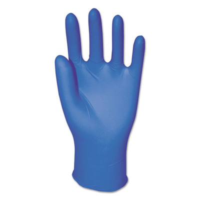 GEN General Purpose Nitrile Gloves, 3.8 mil, Blue, Large, Powder-Free, 100/Box - Part Number: 7301-02421