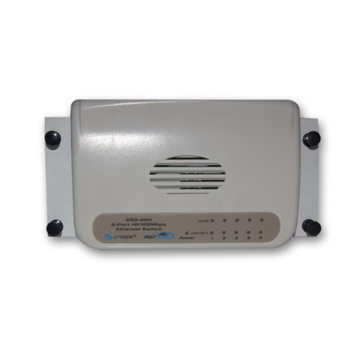 5 Port 10/100 Ethernet Switch, Media Cabinet Mountable, Centralize Your Network - Part Number: 7550-00060