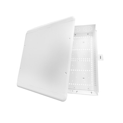 ABS Plastic enclosure with screw cover, 15 inch, white - Part Number: 80-1500-SC