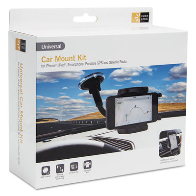 Case Logic universal car mount mobile device holder - Part Number: 8001-10321