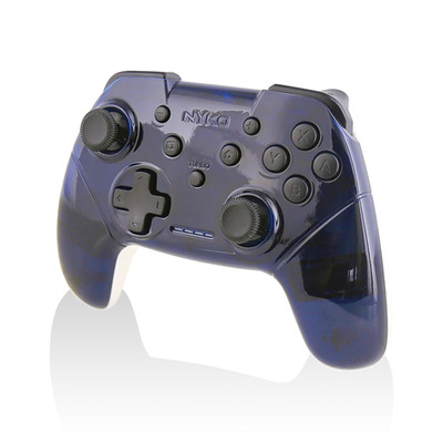 Nyko Wireless Core Controller (Blue/White) for Nintendo Switch - Part Number: 8190-00008