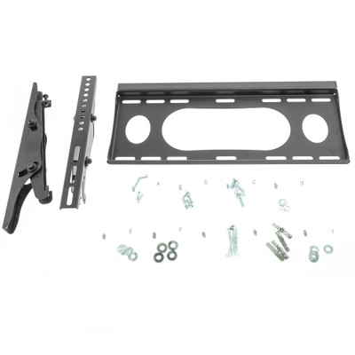 Flat TV Wall Mount for 23 to 37 inch Television - Part Number: 8212-02337BK