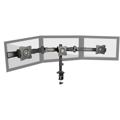 Triple Monitor Deskmount Stand 13 to 27 inch - Part Number: 8212-50011