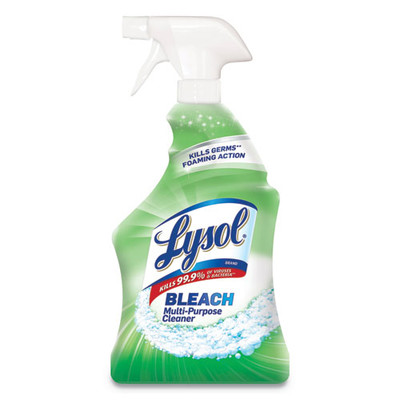 Case of 12 - Lysol All-Purpose Cleaner/Disinfectant with Bleach, 32oz Spray Bottles - Part Number: 8301-00118CT