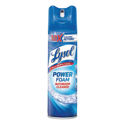 Case of 12 - Power Foam Bathroom Cleaner Lysol, 24oz - Part Number: 8301-07102CT
