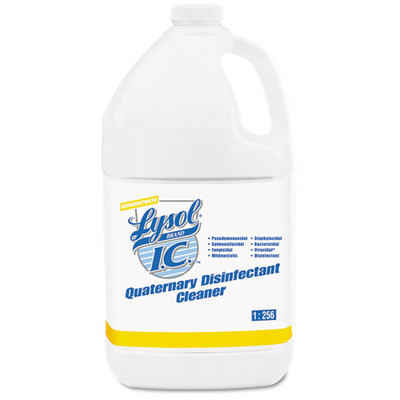 Case of 4 - Lysol I.C. Quaternary Disinfectant Cleaner, 1gal Bottle - Part Number: 8302-00124CT