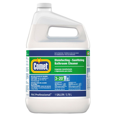 Comet Disinfecting-Sanitizing Bathroom Cleaner, One Gallon Bottle - Part Number: 8302-02102