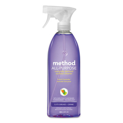 Method All-Purpose Cleaner, French Lavender, 28 oz Bottle - Part Number: 8302-02401