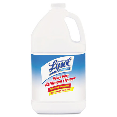 Case of 4 - Lysol Disinfectant Heavy-Duty Bathroom Cleaner Concentrate, 1 gal Bottle - Part Number: 8302-07101CT