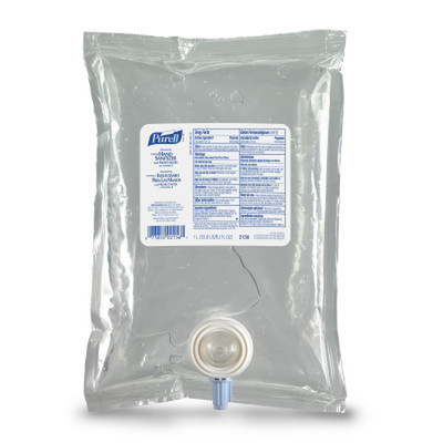 Case of 8 - Purell Advanced Instant Hand Sanitizer NXT Refill, 1000mL - Part Number: 8304-06105CT