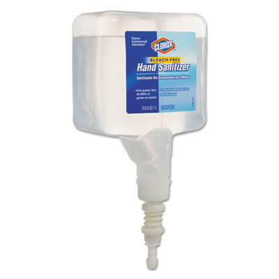 Clorox Hand Sanitizer Touchless Dispenser Refill, 1 Liter - Part Number: 8304-06117