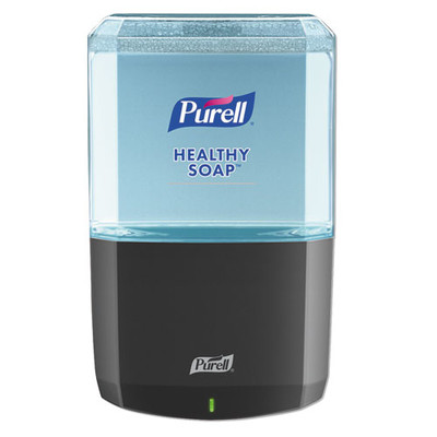 Purell ES6 Soap Touch-Free Dispenser, 1200 mL, 5.25 x 8.8 x 12.13 inches, Graphite - Part Number: 8304-06139