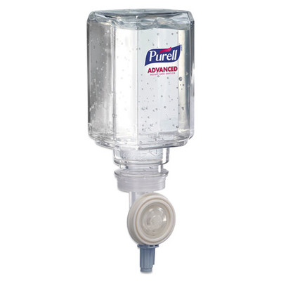 Purell Advanced Instant Hand Sanitizer Gel Refill for Purell ES Dispensers, Clean Scent, 450 mL - Part Number: 8304-06160