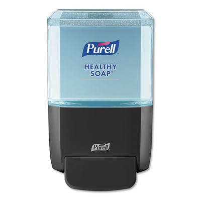 Purell ES4 Soap Push-Style Dispenser, 1200 mL, 4.88 x 8.8 x 11.38 inches, Graphite - Part Number: 8304-06165