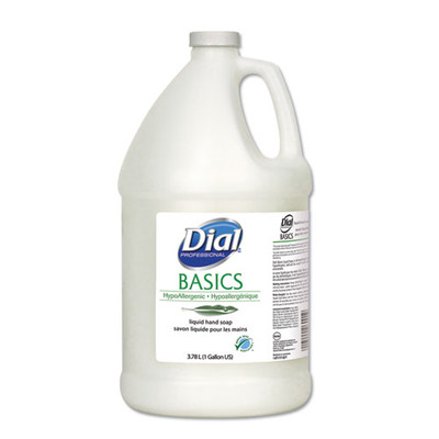 Dial Professional Basics Liquid Soap, Fresh Floral, 1 gal Bottle - Part Number: 8304-06207