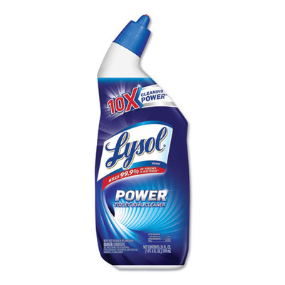 Lysol Disinfectant Toilet Bowl Cleaner, Wintergreen, 24oz Bottle - Part Number: 8305-00108