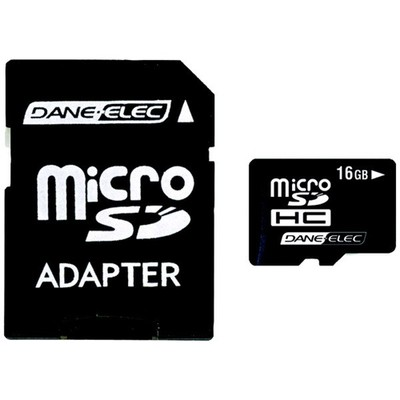 microSD Card, 16 GB - Part Number: 8401-16000