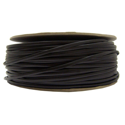 Bulk Phone Cord, Black, 28/4 (28 AWG 4 Conductor), Spool, 1000 foot - Part Number: 8604-1000F-28BK