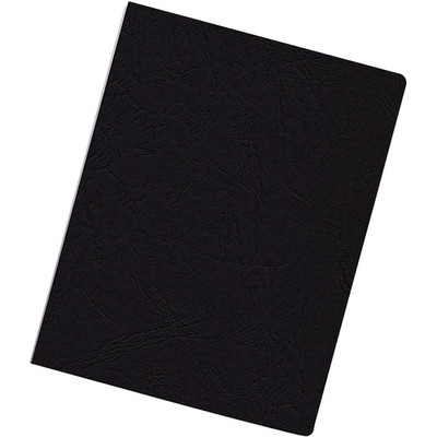 Fellowes Binding Covers, Expressions, Oversize, Grain Black, 200PK - Part Number: 8701-00120