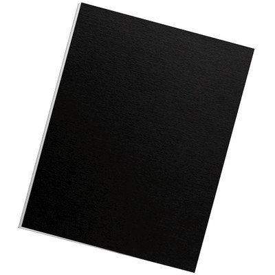 Futura Presentation Covers - Letter, Black, 25 pack - Part Number: 8701-00123