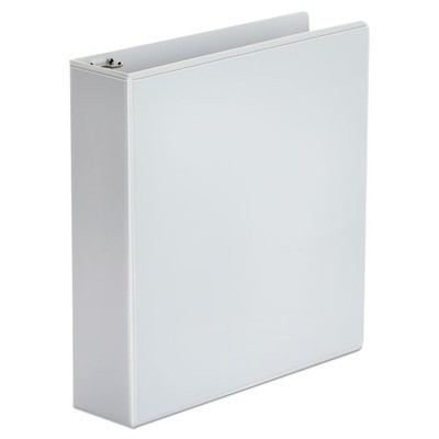 Universal Economy Round Ring View Binder, 2 inch Capacity, White - UNV20982 - Part Number: 8711-00101