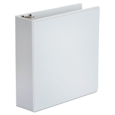 Universal Economy Round Ring View Binder, 3 inch Capacity, White - UNV20992 - Part Number: 8711-00103