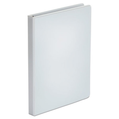 Universal Economy Round Ring View Binder, 1/2 inch Capacity, White - UNV20952 - Part Number: 8711-00104