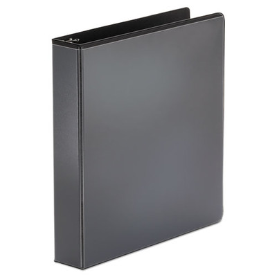 Universal Economy Round Ring View Binder, 1.5 inch Capacity, Black - UNV20971 - Part Number: 8711-00107
