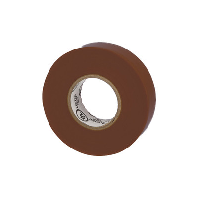 Warrior Wrap 7mil General Vinyl Electrical Tape Brown 0.75 inch x 60 ft - Part Number: 9001-22300