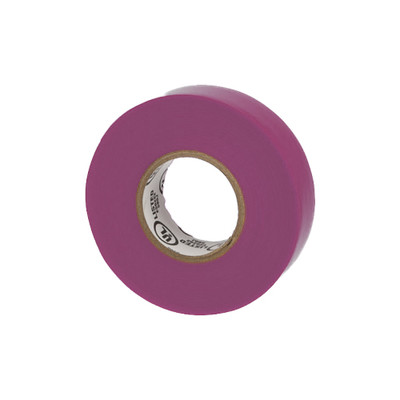 Warrior Wrap 7mil General Vinyl Electrical Tape Purple 0.75 inch x 60 ft - Part Number: 9001-24100
