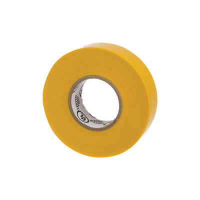 Warrior Wrap 7mil General Vinyl Electrical Tape Yellow 0.75 inch x 60 ft - Part Number: 9001-28100
