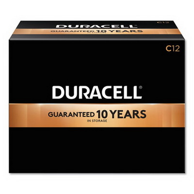 Duracell CopperTop Alkaline Batteries, C, MN140012, 12/PK - Part Number: 9082-03012