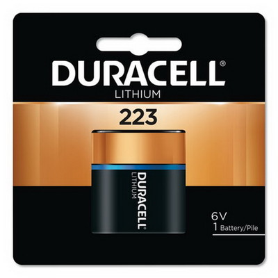 Duracell 223 6V Lithium Battery, DL223ABPK - Part Number: 9082-41001