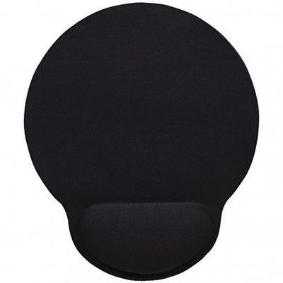 Wrist-Rest Mouse Pad (Black) - Part Number: 90D5-01412
