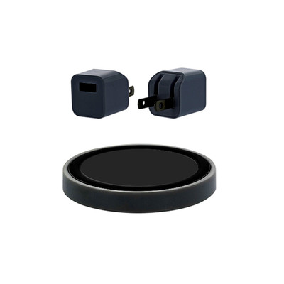 Wireless Charger(Wall Plug + USB Cable + Charge Puck), Black - Part Number: 90W1-315BK