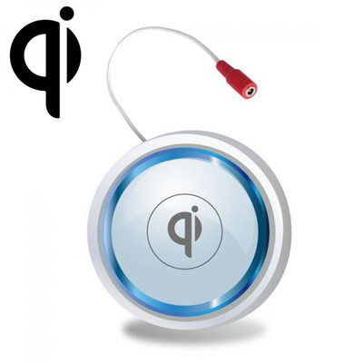 Qi Embedded (in furniture) Wireless Charging Module with AC Adapter, White - Part Number: 90W3-01200