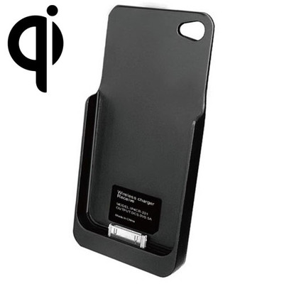 Qi Wireless Charging Sleeve for iPhone 4 / 4S, Black - Part Number: 90W3-02100