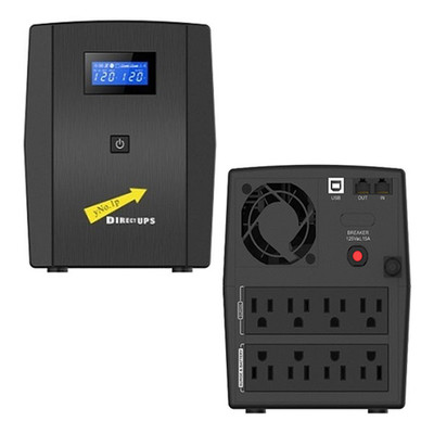 Vesta Pro 1000 UPS VP, 1000 VA (Volt Amps), Uninterrupted Power Supply, Black - Part Number: 91W1-31000