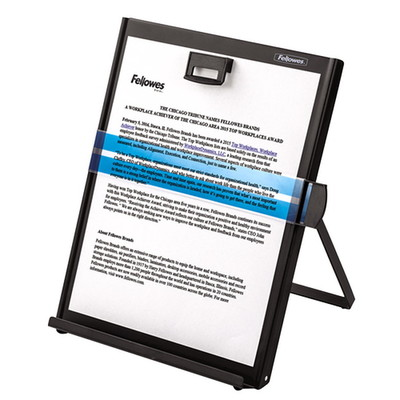 Fellowes Copyholder, Copy-Aid Black, Letter - Part Number: 9301-00105